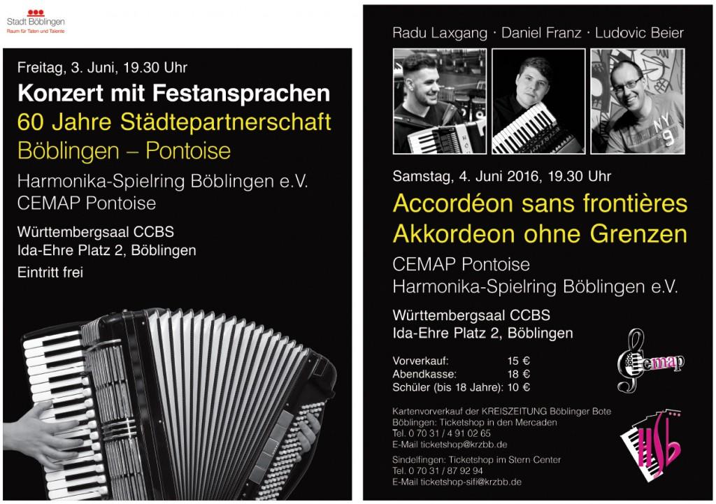 HSB Konzert mit Festansprache 60 Jahre Pontoise