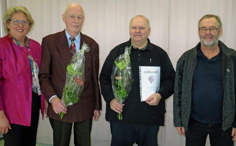 (v.l. Astrid Stepanek, Erwin Rahmer, Franz Deutsch, Ernst Fuchs)